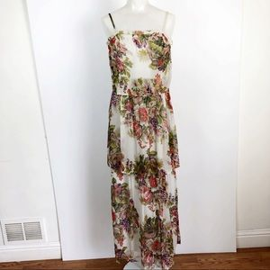 Willow & Clay Tiered floral Maxi Dress